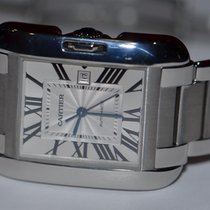 Cartier Tank Anglaise Automatic Display Model Under Warranty
