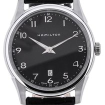 Hamilton Jazzmaster Thinline Quartz Black Dial