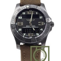 Breitling Aerospace Evo Night Mission Titanium Quartz  NEW
