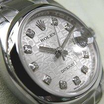 ロレックス (Rolex) Datejust 179160 Ladies Steel Oyster 26mm Silver...