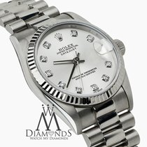 Rolex New Style 68279 Rolex 31mm 18k White Gold Datejust...