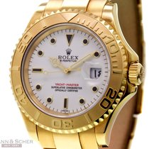 Rolex Yachtmaster Man Size Ref-16628 in 18k Yellow Gold Box...