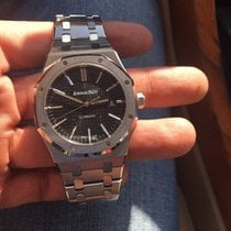 Audemars Piguet Royal Oak - 15400 - Black Dial - FULL SET - 2015