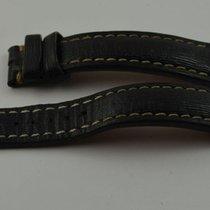 Breitling Leder Armband Band 20mm 20-18 Für Dornschliesse Schwarz