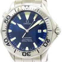 Omega Polished Omega Seamaster Professional 300m Quartz Mens...
