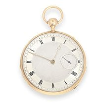 Pocket watch: fine French Lepine with Repeater and second on...
