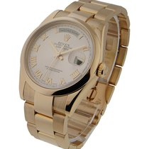 Rolex Used 118205_used_rose Mens President with Oyster...