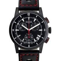 Davosa Rallye Herren-Chronograph PVD black 162.476.55