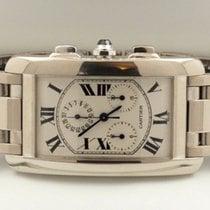 Cartier Tank Americaine Chrono Large White Gold 18 krt (45 x...