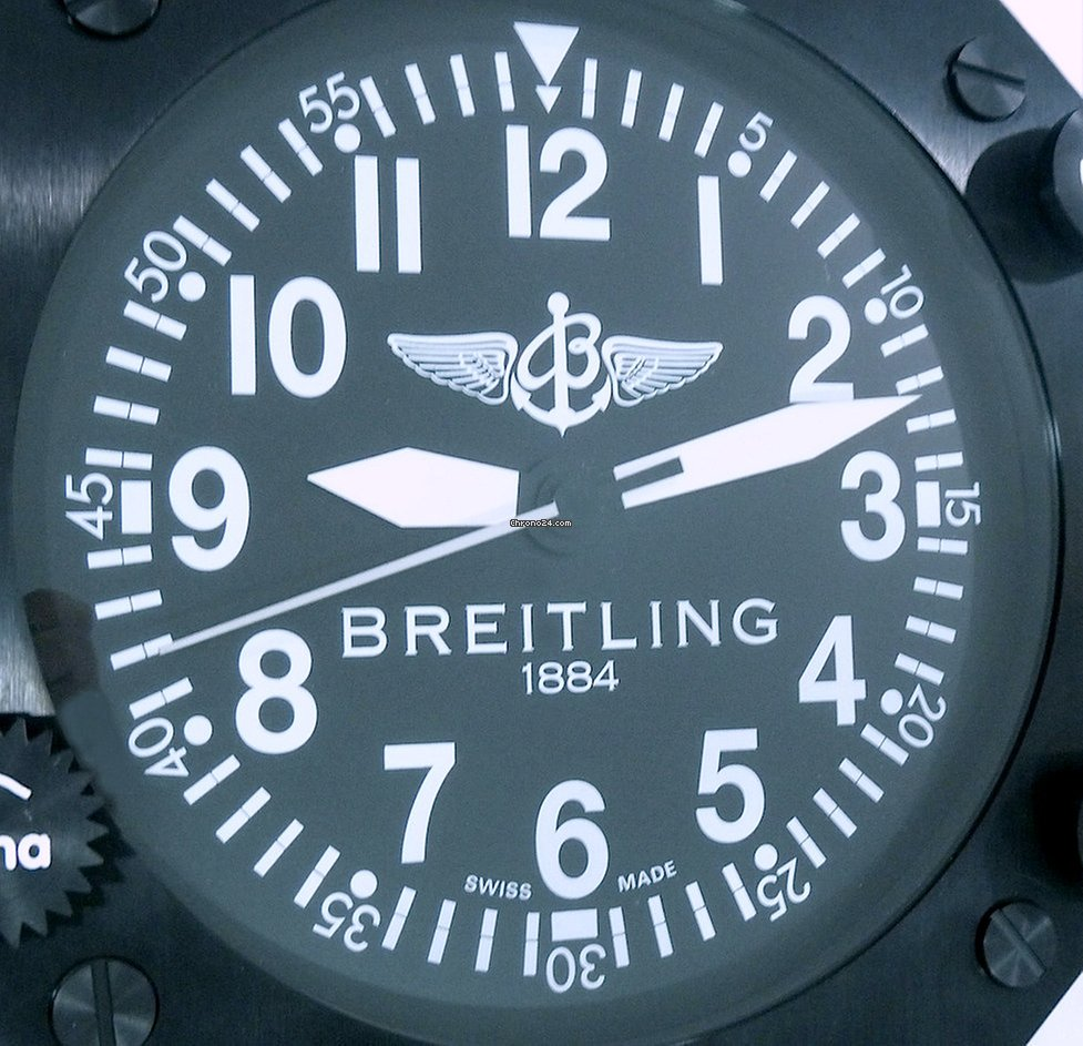 Breitling Cockpit Dealer Display Wall Clock Large Rare For
