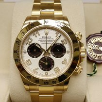 勞力士 (Rolex) 18K Yellow Gold Panda Dial Cosmograph Daytona [NEW}