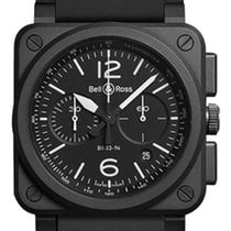 Bell & Ross BR03-94 Chronograph 42mm BR0394-BL-CE