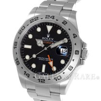 롤렉스 (Rolex) Explorer II Black Dial Stainless Steel 42MM...