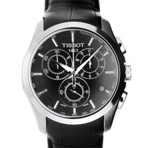 Tissot watch Couturier Chronograph Quartz black dial