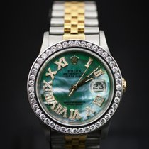 Rolex TWO TONE DATEJUST 36MM 18KTY AND SS WATCH