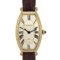 Cartier Tonneau Lady In Oro Giallo 18kt Ref. 89590016