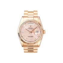 Rolex Used 118235_used_rose_dia_dial President Date in Rose...
