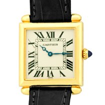 "Cartier ""Tank Obus"" Strapwatch."
