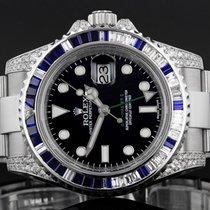 Rolex GMT Master II 116710 LN - 2008 - Diamond And Sapphire Bezel