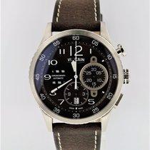 Vulcain Aviator Instrument Chronograph Steel 590163A47.BFC008