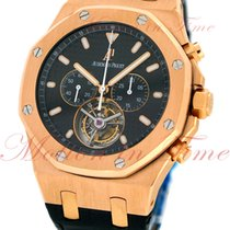 Audemars Piguet Royal Oak Tourbillon Chronograph Jumbo, Black...