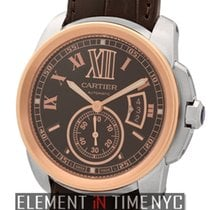 Cartier Calibre Collection Calibre Steel & 18k Rose Gold...