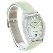 Ulysse Nardin Michelangelo Midsize Steel Diamond Watch 113-48