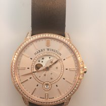 Harry Winston Ladies Midnight Moon Phase 39mm
