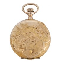 Elgin Antique 14K Gold Filled Hunter Case Pocket Watch