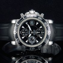 Montblanc Meisterstück XL Chronograph Stahl Ref. 7034  NEUE...
