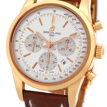 "Breitling ""TransOcean"" Chronograph Strapwatch."