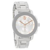 Movado Bold Ladies Silver Dial Swiss Chronograph Quartz Watch...
