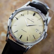 Movado Kingmatic Subsea Automatic 35mm Stainless St Mens 1960s...