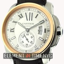 Cartier Calibre Collection Steel & Gold Silver Dial 42mm