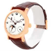 Patek Philippe Power Reserve Moonphase Rose Gold Watch 5054...