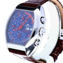 Van Der Bauwede GT Modena Chronograph Day-Date Steel