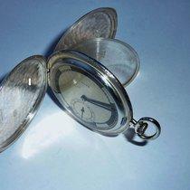 Rolex Ref. 2045 Taschenuhr Silver Savonette Pocket Watch