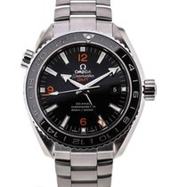 Omega Seamaster Planet Ocean GMT Black Dial
