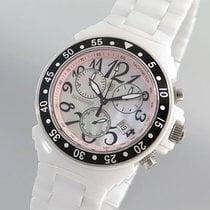 Lancaster Damenuhr Chronograph High Tech Ceramic