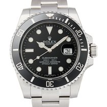 Rolex Submariner Date Steel Ceramic Black Dial 116610LN NEW