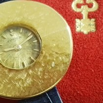 Corum rare chinese hat 18 kt gold yellow lady vintage