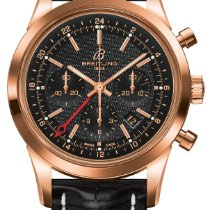 Breitling Transocean Chronograph GMT Black Dial BWatch