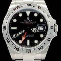 ロレックス (Rolex) Explorer II  New Unworn  Stainless Steel Black...