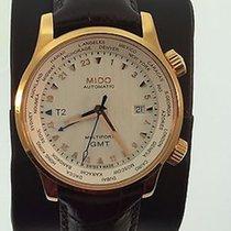 Mido Multifort Gent GMT Brown Strap Cities M0059293603100