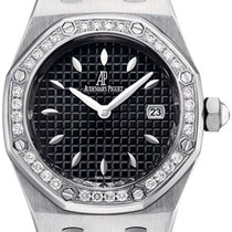 Audemars Piguet Royal Oak Stainless Steel & Diamonds...