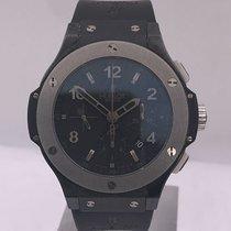 Hublot modern BIG BANG chronograph first ed. BLACK MAGIC...