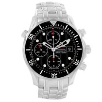 Omega Seamaster 300m Chronograph Black Dial Watch 213.30.42.40...