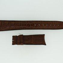IWC Lederband / Alligator / Braun 20/16mm 135/55mm