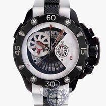 ゼニス (Zenith) Defy Xtreme Open Chronograph Black Titanium...