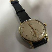 Omega 2181 vintage oversize 37mm 14k gold